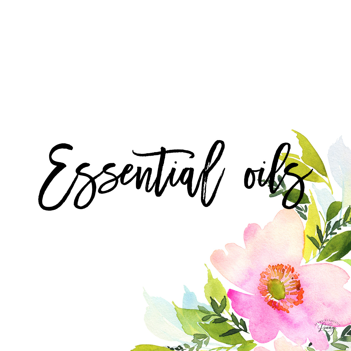Essential Oils for Beginners - Essential Oils (Floral)